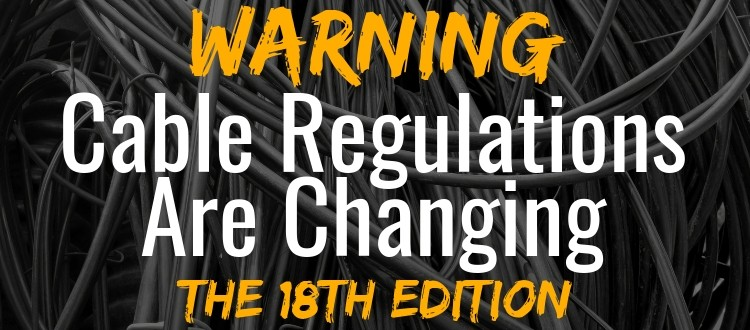 cable regulations 18th edition