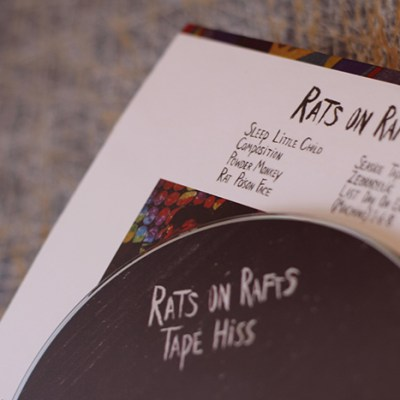 Rats on Rafts - Tape Hiss - CD