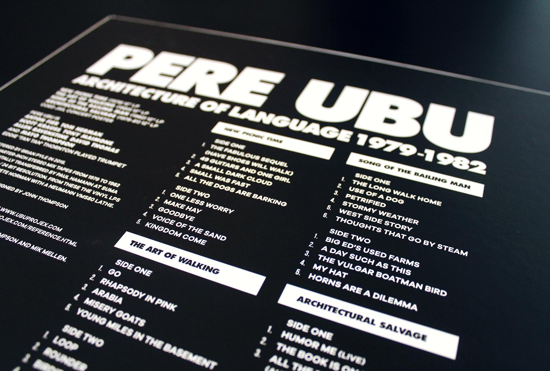 Pere Ubu Architecture Of Language 1979 1982 Vinyl Box
