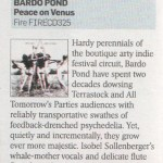 'Peace On Venus' - Sunday Times Review