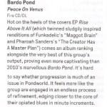 'Peace On Venus' -  Wire Album Review