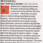 NME - Any Port In A Storm  - album review