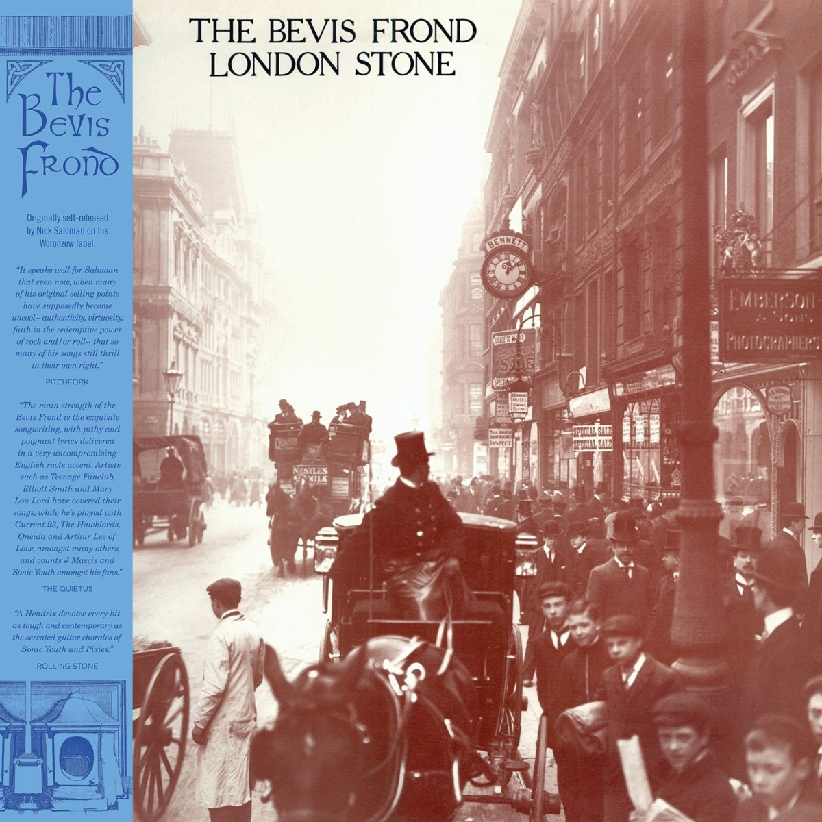 The Bevis Frond London Stone 2lp Fire Records
