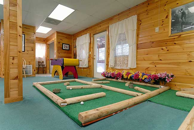 Caddyshack Lodge 6 Br Chalet Country Oaks Pigeon Forge