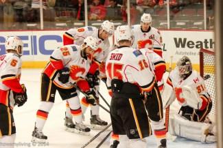 Calgary Flames Warm-up
