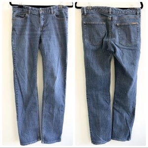 Michael Kors straight leg medium rinse jeans size 6