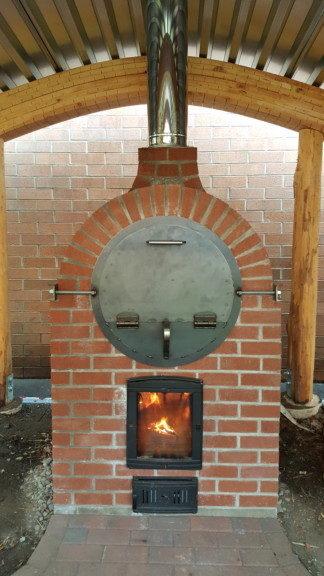 Portland Waldorf School Barrel Oven