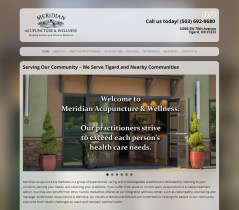 Meridian Acupuncture|client for Portland SEO services