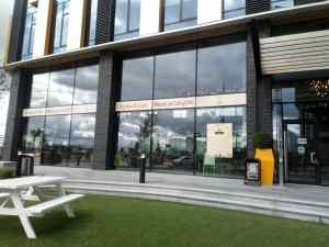 outside Ziferblat media city