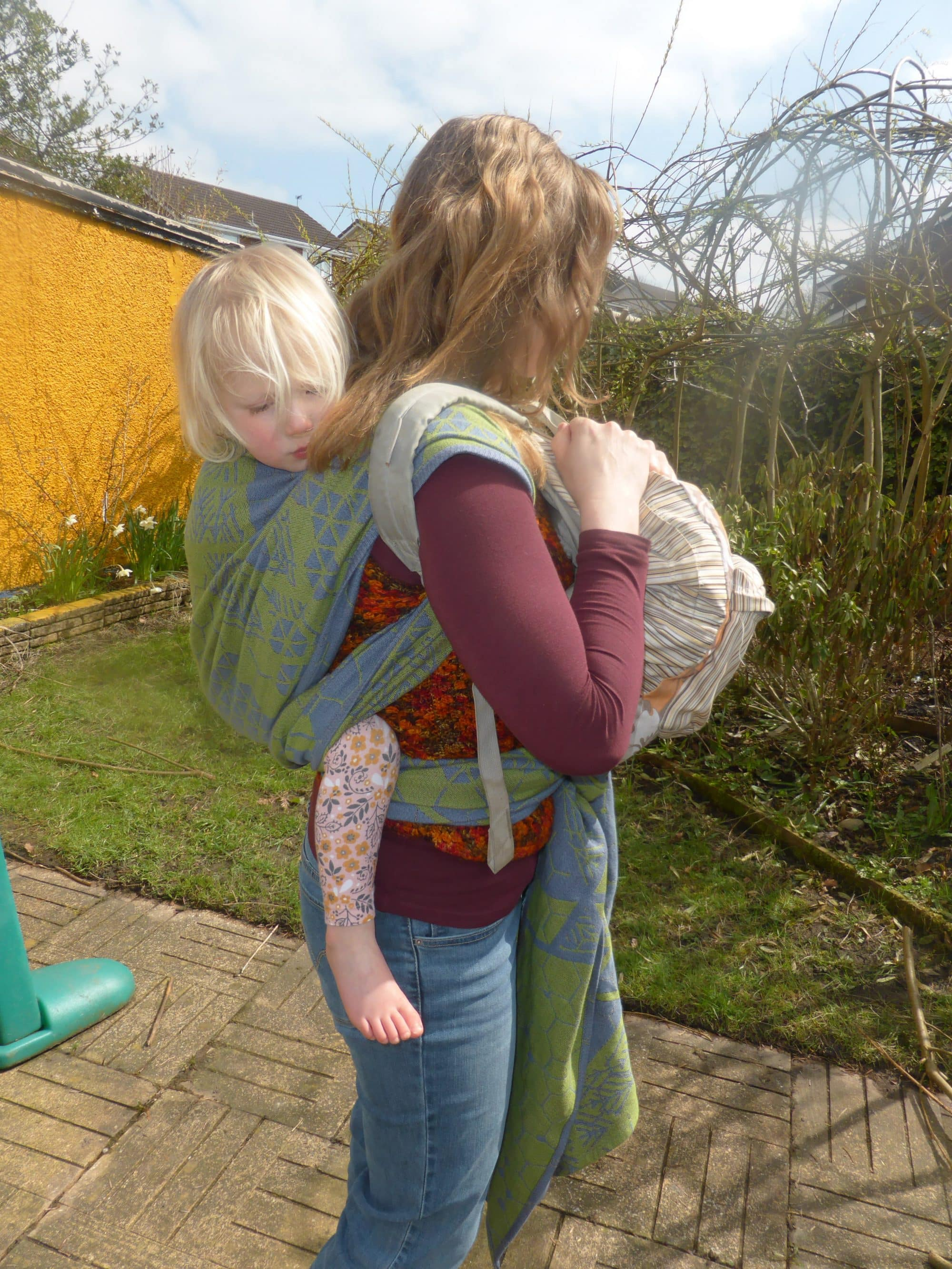 rucksacks are less practical for back carries
