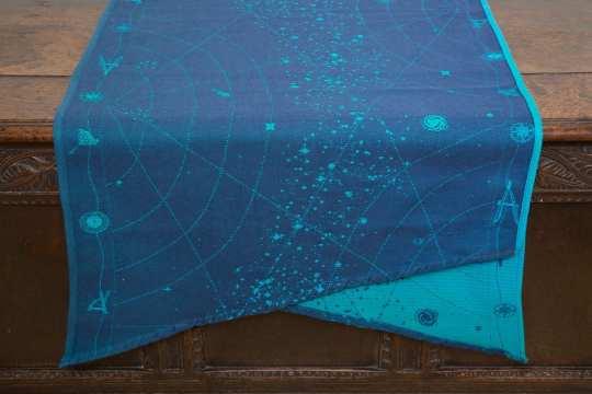 Aurora Borealis Starmap woven wrap