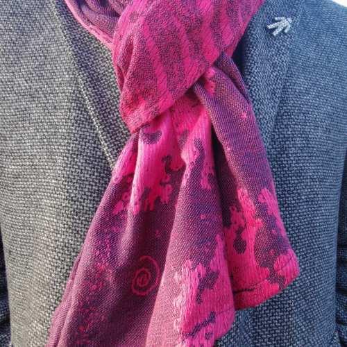 sunset seafoam scarf