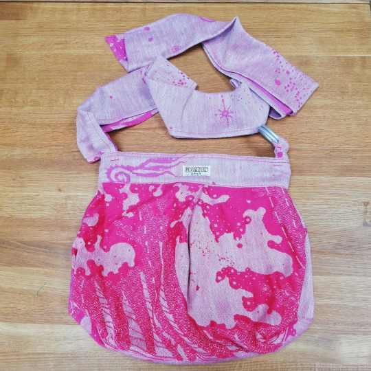 dryad-sunset-seafoam-babywearing-bag