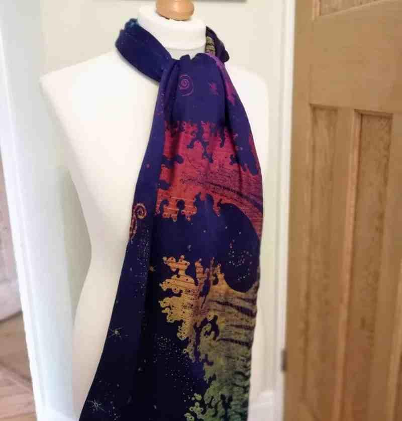bifrost seafoam scarf