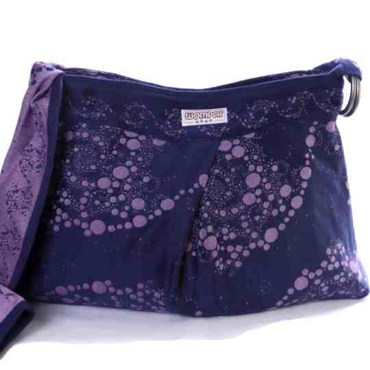 blossoms twilight tourbillon wompat babywearing bag
