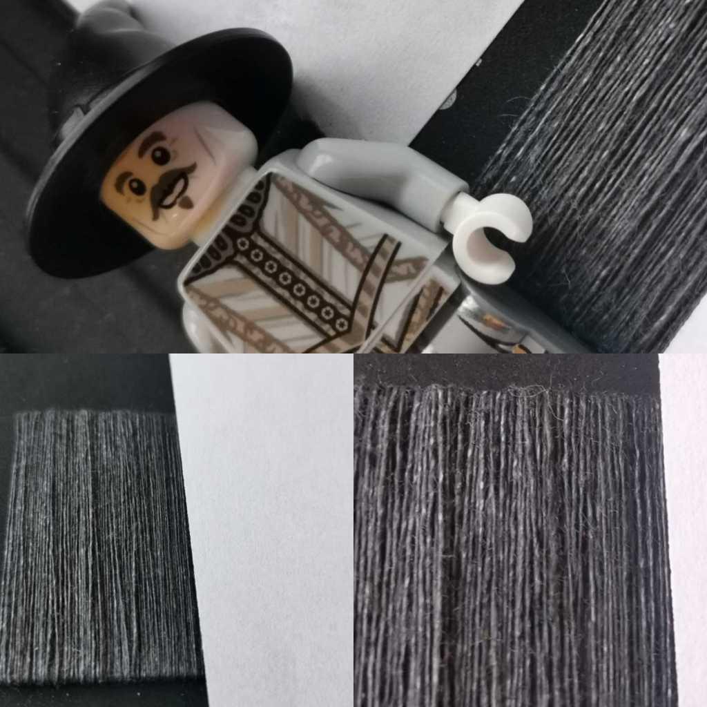 grey linen swatch