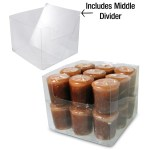 Clear Votive Display Boxes