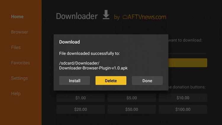 downloader apk op android box