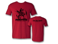Firesticks Eat the Heat Antique Cherry Red T-Shirt