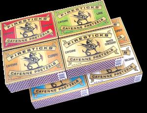 8 Pack Mix and Match Firestick Pretzels