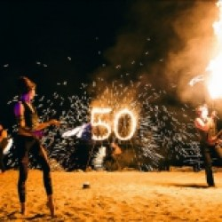 FireTribe - Fire Sculpture, Fire Breather, Six Person Choreo