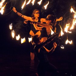 FireTribe fire dancing wedding entertainment Cape Town South Africa