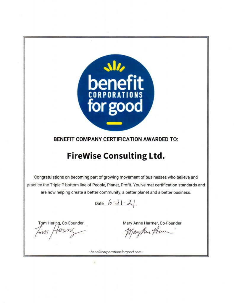 Certified Business Certificate