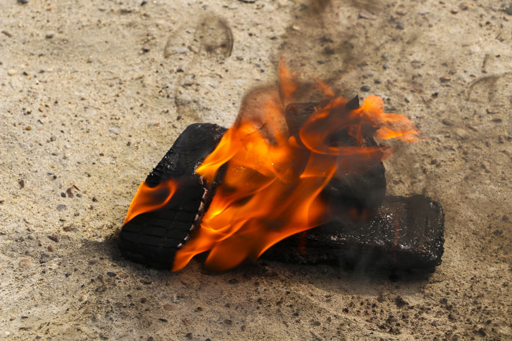 Lithium Battery Potential Fire
