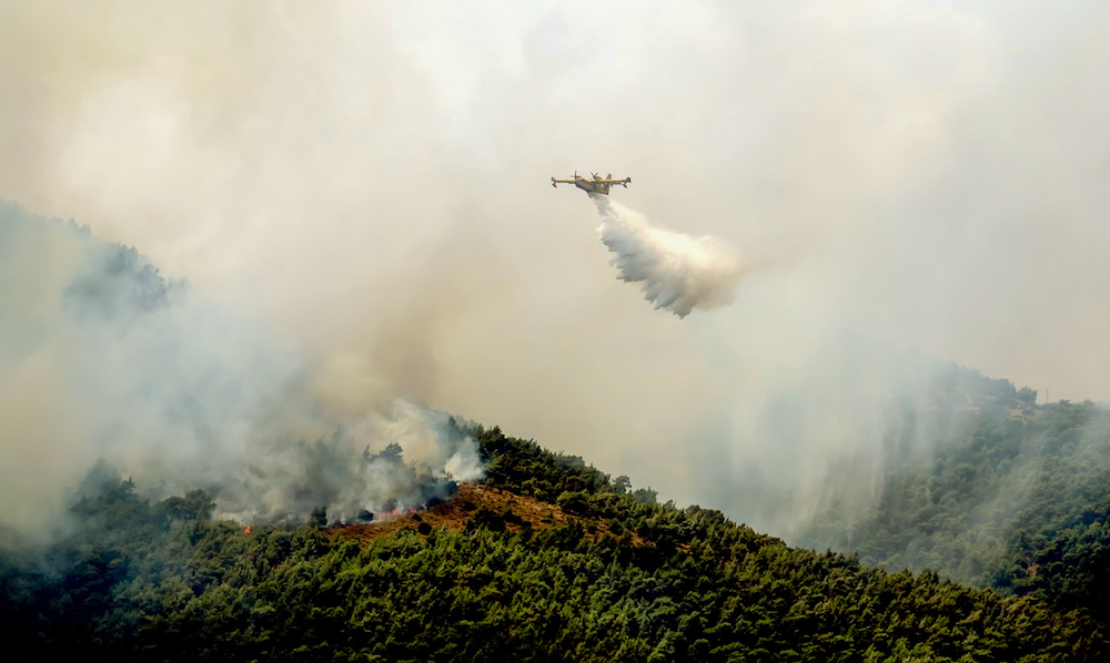 Long Fire Seasons Has Australia Considering a Flying Firefighting Fleet