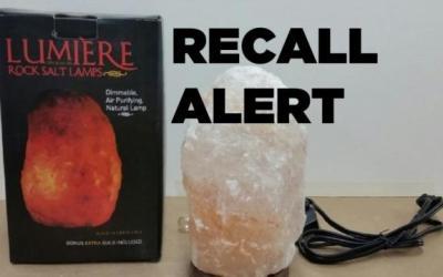 Michaels U.S. recalls rock salt lamps