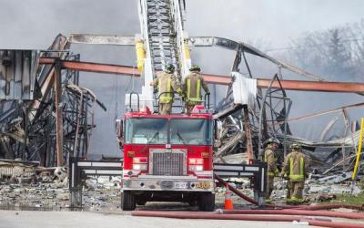 Owners, tenants charged in inferno that left three firefighters near death