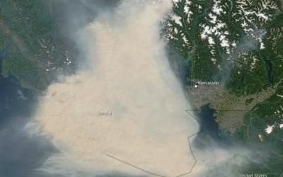FireSmoke Canada wildfire smoke forecasts