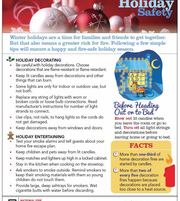 Winter Holiday Safety