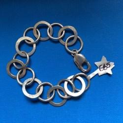 Starfish chunky bracelet
