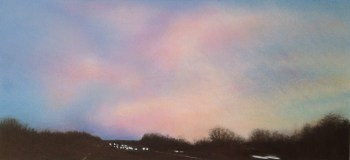 Image of Rebecca Mendoza 'Journey' pastel drawing