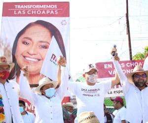 Ganará la voluntad popular al dinero en Las Choapas: Esteban Ramírez