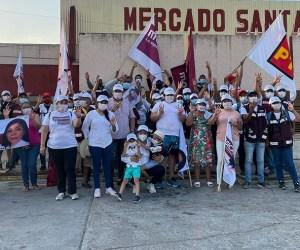 Familias de la Santa Clara refrendan apoyo a Jessica Ramírez