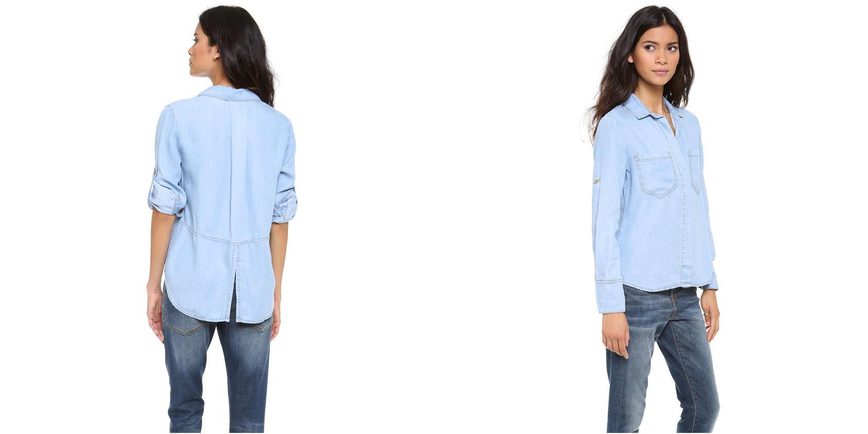 Camasi dama Burberry, Calvin Klein si Columbia disponibile pe ShopAlert