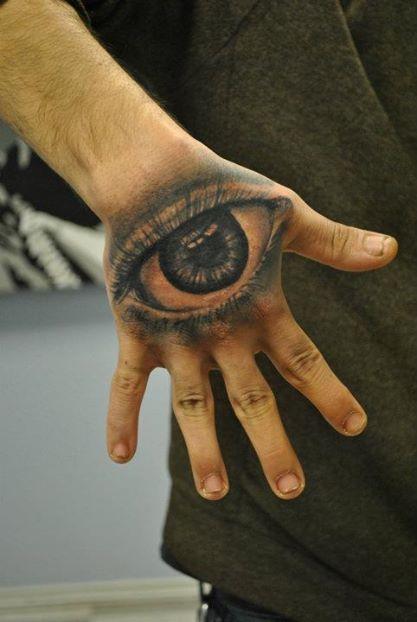 Eye Custom Tattoo - Firme Copias