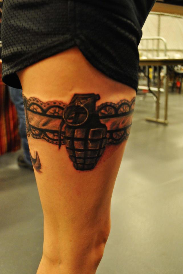 Grenade Custom Tattoo - Firme Copias