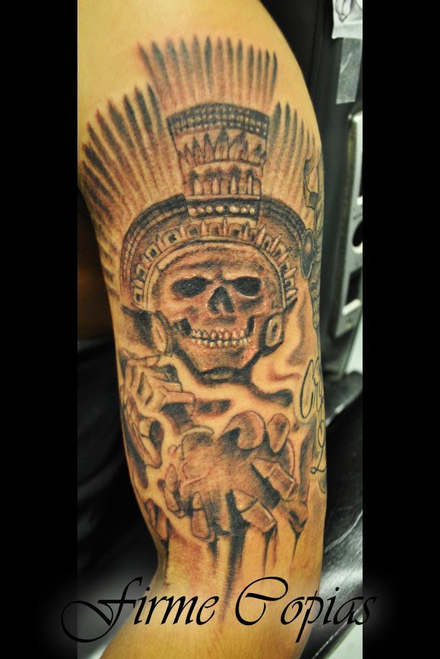 Skull Custom Tattoo - Frime Copias