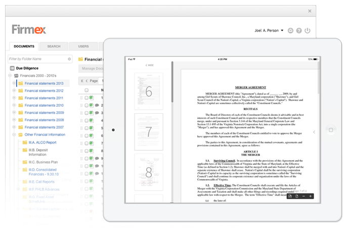 Firmex-Ipad-Document-Viewer