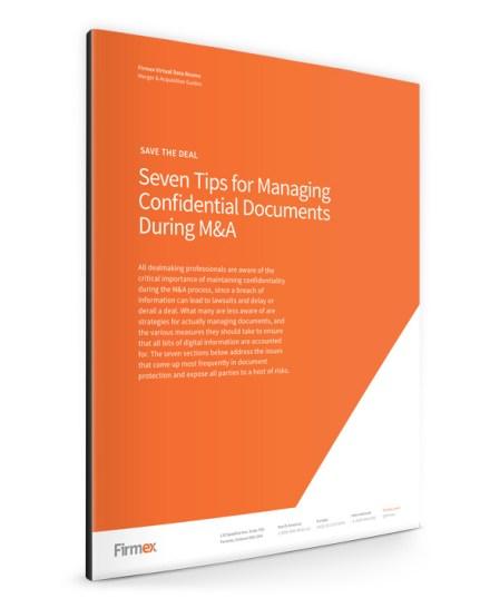 ManagingDocumentsDuringMandA-firmex