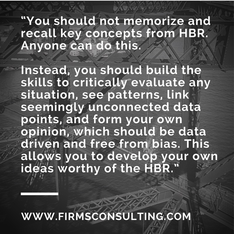 HBR consulting quote 2