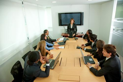 spotkanie służbowe
