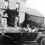 Firs Farm, motor car c.1930