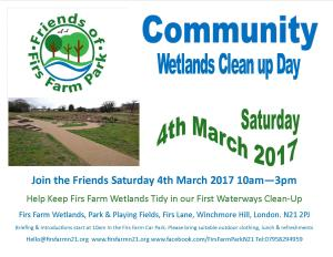 Wetlands Clean up 4th March 2017 Picture
