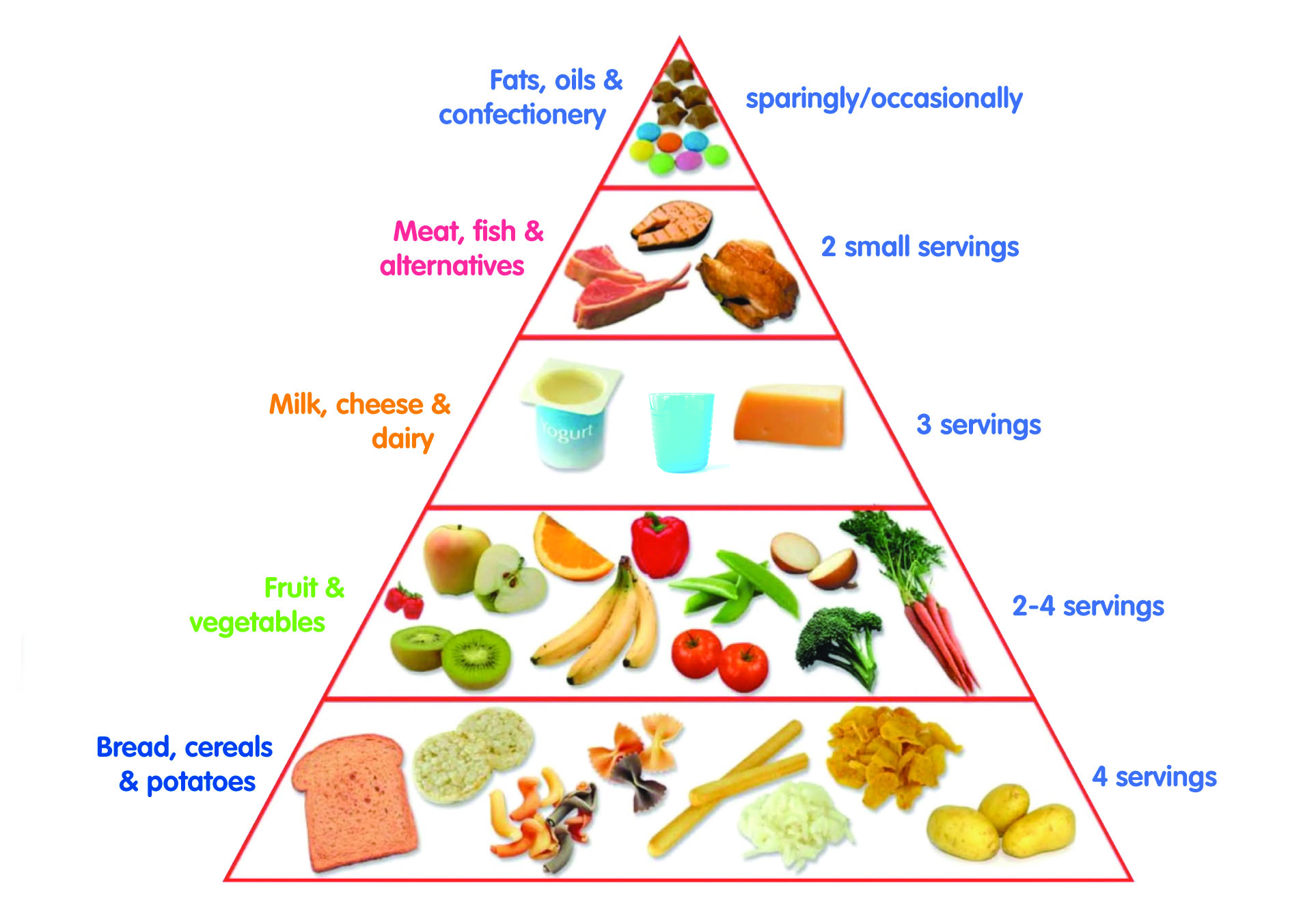 Clilstore Unit Food Pyramid