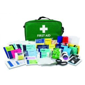First Aid Stadium bag/contents