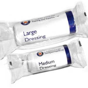 first aid large dressings